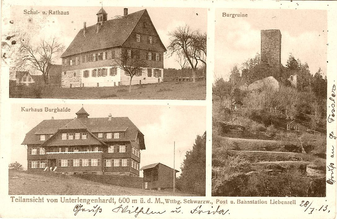 Our holiday ressort in the Black Forest - Uncle Wilhelm's and Aunt Frida's home